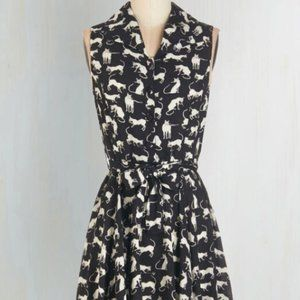 Modcloth 2015 - Hither and Yarn Dress in S